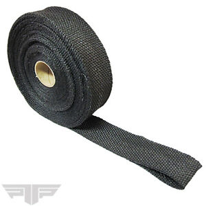 Ptp Black Exhaust Wrap 2 X 50ft Roll High Temperature Header Manifold 700542