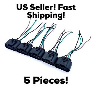 5 New Audi Vw Ignition Coil Connector Harness Plug Wiring Eos Golf Jetta Passat