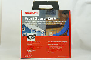 Brand New Raychem Fg1 12p Frostguard Pre assembled Heating Cable 120v