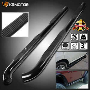 For 2015 2020 Jeep Renegade Suv 3 Black S s Running Boards Side Step Nerf Bars