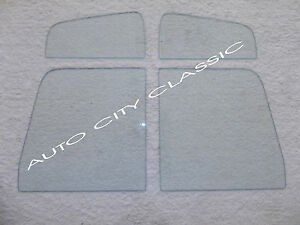Vent Door Glass Clear 1957 1958 1959 1960 Ford Pickup And Panel Truck
