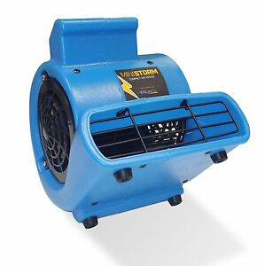 Bluedri Mini Storm Mini Air Mover Carpet Dryer Blower Floor Fan Home Janitorial