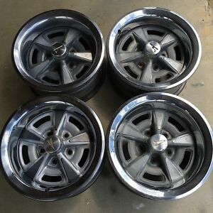 15x7 Pontiac Rally Wheels 70 S 80 S Set Of 4 Oem L K
