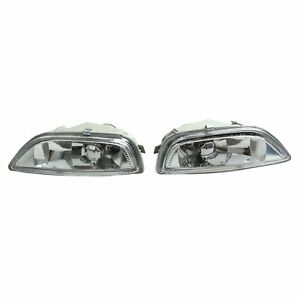 For Toyota Corolla 2001 2002 Front Bumper Glass Fog Lights Lamps Pair Rh Lh New