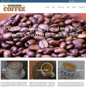 Coffee Website Business For Sale 949 89 A Sale Instant Traffic System