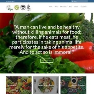 Vegan Website Business For Sale 18 18 A Sale Instant Traffic System