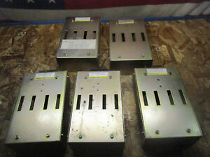 Lot Of 4 Fanuc A06b 6047 h050 Discharge Units_look Good_great Deal_as is_fcfs_