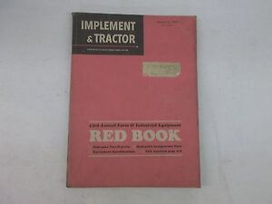 1969 Farm Tractor And Implement Red Book International John Deere Oliver Ford