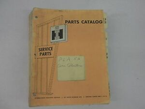 International Harvester Corn Planters Parts Catalog Most Models From 1958 1969