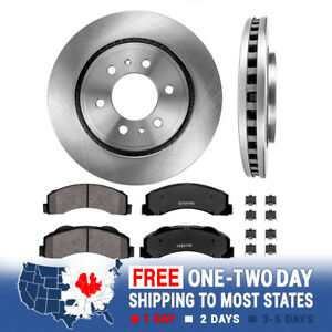 Front Brake Rotors And Ceramic Pads For Ford F150 Expedition Lincoln Navigator