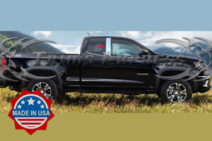 2013 2020 Chevy Colorado Canyon Extended Cab 2pc Pillar Post Trim Stainless