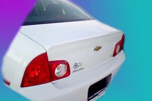 Painted 2009 2010 2011 2012 Chevrolet Malibu Spoiler Factory Lip Style