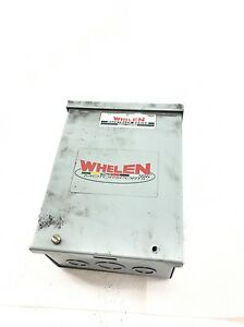 New Whelen 10 0542667 02 Signal Control With Hoffman A 8r64 Enclosure B394