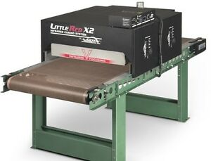 Vastex X2 Conveyor Dryer 30 Belt X 7 W Digital Controls For Screen Printing