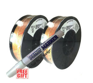 2 X 10lb 035 E71t 11 Flux Cored Gasless Weld Wire Usa Made