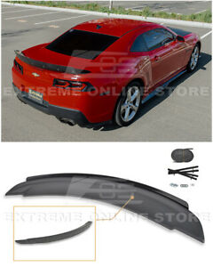 Eos For 14 15 Camaro All Zl1 Style Rear Trunk Wing Spoiler W Wickerbill Insert