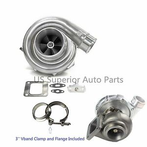 Aftermarket Turbo Charger T76 Anti surge Comp 80 A r T4 81 A r P trim Turbine