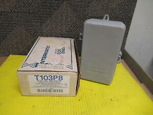 New Intermatic 24 Hr Dial Time Switch T103p 120 804 240vac 4e024