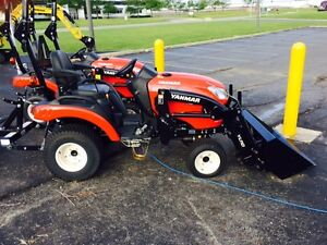 New Yanmar 21hp Sub compact Tractor