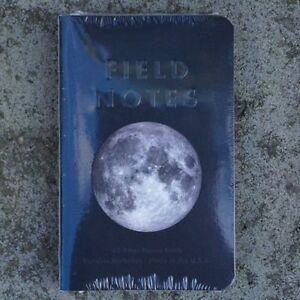 Sold Out Field Notes Brand Lunacy Edition Sealed 3 pack Notebooks Fall 2016