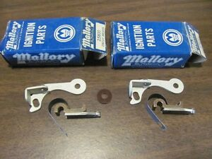 Nos Mallory 25800 Circuit Breakers Dual Points Kits Dodge Chrysler Plymouth
