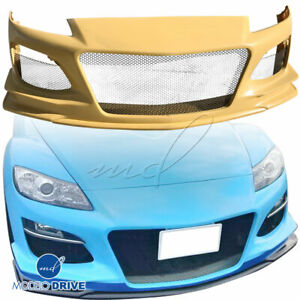Modelodrive Frp Rame Front Bumper For Mazda Rx 8 S3ep 09 11
