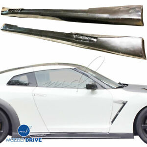 Modelodrive Frp Wal Biso Side Skirts For Nissan Gt r Gtr R35 09 15