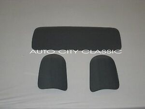 Back Glass Center Rear Curved Corners Grey Chevy Gmc Pickup 1947 1954