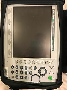 Anritsu Ms2721a Spectrummaster Handheld Spectrum Analyzer 100khz To 7 1ghz Used
