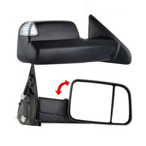 For 02 08 Dodge Ram 1500 03 09 2500 3500 Tow Extend Mirror Signal puddle Light