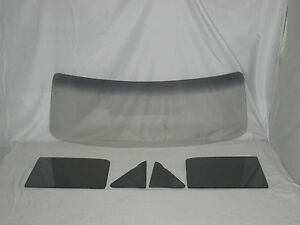 Grey Glass 1948 1949 1950 1951 1952 Ford Pickup Windshield Vent Door Set
