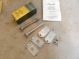 1949 1950 1951 Lincoln Rear Door Safety Lock Kit Nos 1h 18333