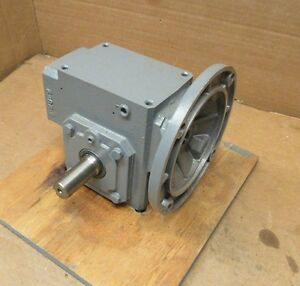 Dayton 4z298 10 1 Ratio Right Angle Gearbox Speed Reducer 1 5hp 1725rpm
