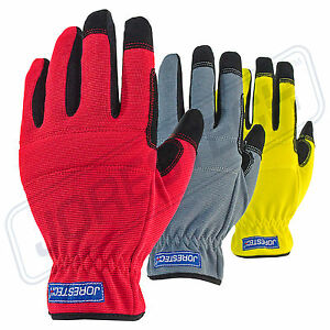 Firm Work Gloves Safety Size Large 3 Pairs Outdoor work garden Pad New