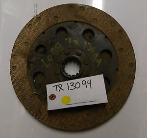 Tx13094 Clutch Disk For A Long Tractor E24
