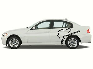 Nurburgring Track Side Graphics Decal Sticker 24 X 40 Quarter Panel Euro Bmw