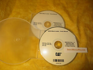 Sebp2395 New Cat Caterpillar 980g Wheel Loader Parts Manual Book Cd