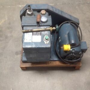 Welch Duo Seal Vacuum Pump Model 1376