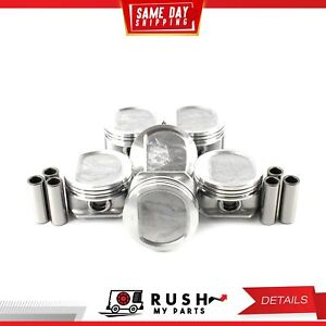 Dnj P1123 40 Oversize Compl Piston Set For 96 06 Jeep 4 0l Ohv 12v