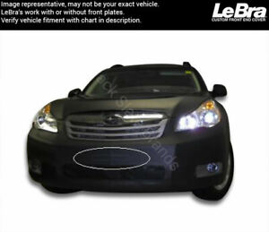Lebra Front End Mask 551243 01 Fits Subaru Outback 2010 2011 2012