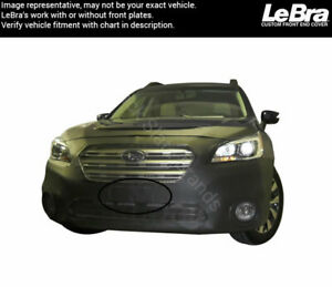 Lebra Front End Mask 551501 01 Fits Subaru Outback 2015 2016 2017