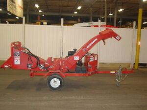Demo Model Morbark Beever M6r Brush Chipper 2013 Model 27 Hp