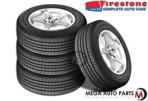 4 X Firestone Affinity Touring P195 70r14 90s All Season Performance Tires