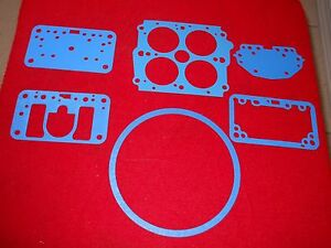 Holley Vacuum Secondary Blue Gasket Kit For 600 Cfm Carbs Model 4180