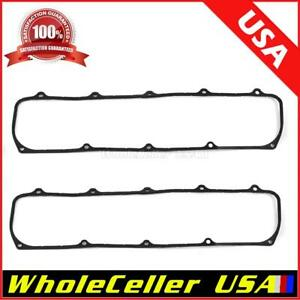 Steel Core Rubber Valve Cover Gaskets Olds For Oldsmobile 307 350 400 403 455