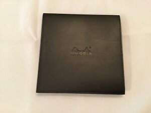 Rhodia 5 X 5 Black Soft Covered Pad With Graph Paper Lot Of 3
