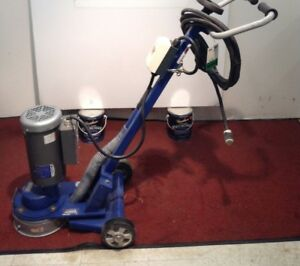 Used Blastrac Bgs 250 115 Surface Grinder Tile Removal Floor Stripping Scraper
