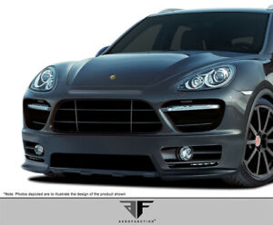 Aero Function Cayenne Af 2 Front Bumper Cover Gfk 1 Piece For Cayanne P