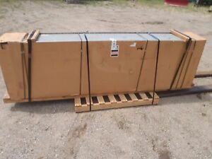 New Trane Water Cooling Coil Series 18 Type A 8 Rows Deep