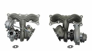 Twin Turbo Turbocharger Set Fits Bmw 335i 2007 2016